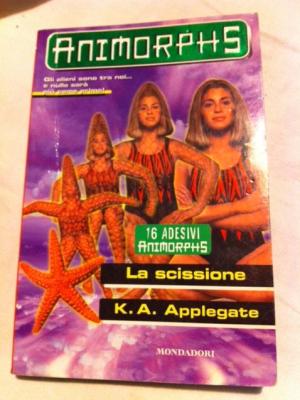 Applegate - La scissione - Mondadori Animorphus