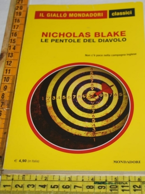 Blake Nicholas - Le pentole del diavolo - 1369 Classici