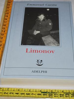 Carrère Carrere Emmanuel - Limonov - Adelphi