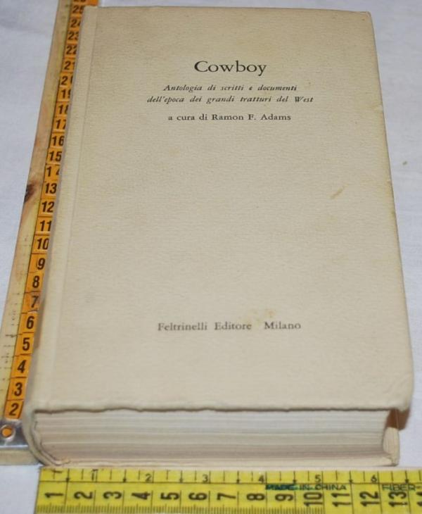 AA. VV. Adams Ranon - Cowboy - Feltrinelli