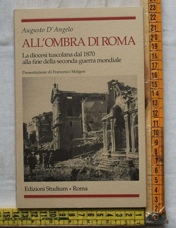 D'Angelo Augusto - All'ombra di Roma - Editrice Studium