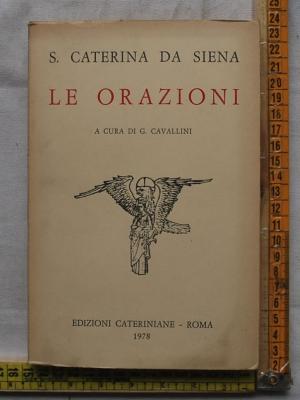 S. Caterina da Siena - Le orazioni - Edizioni cateriniane