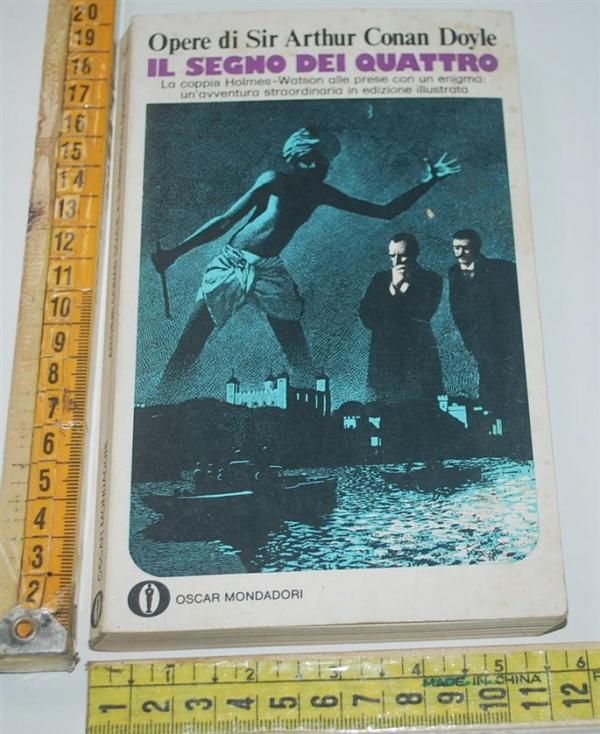 Conan Doyle - Il segno dei quattro (B) - Mondadori Oscar