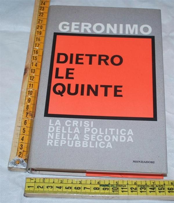 Geronimo - Dietro le quinte - Mondadori