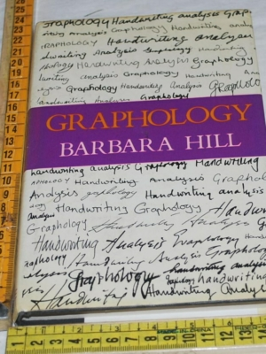 Hill Barbara - Graphology - Robert Hale in inglese