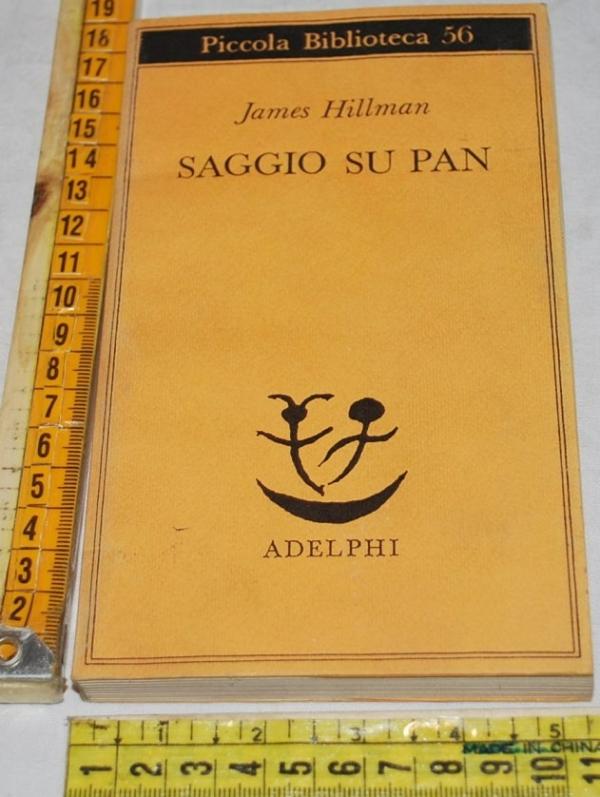 Hillman James - Saggio su Pan - PB Adelphi