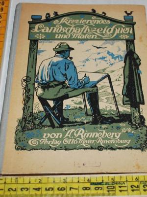 Rinneberg - Landschaftszeichnen und malen - Ravensburg