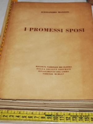 Manzoni Alessandro - I promessi sposi - RDL