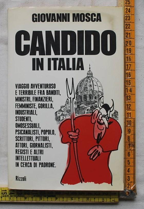 Mosca Giovanni - Candido in Italia - Rizzoli