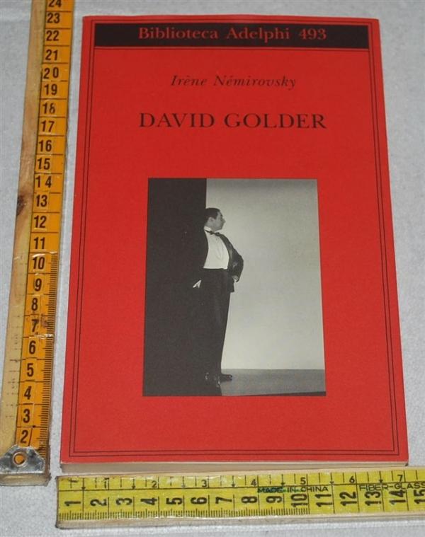 Némirovsky Irène - David Golder - Biblioteca Adelphi