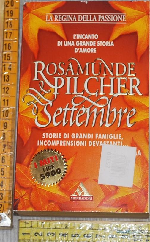 Pilcher Rosamunde - Settembre - I miti Mondadori