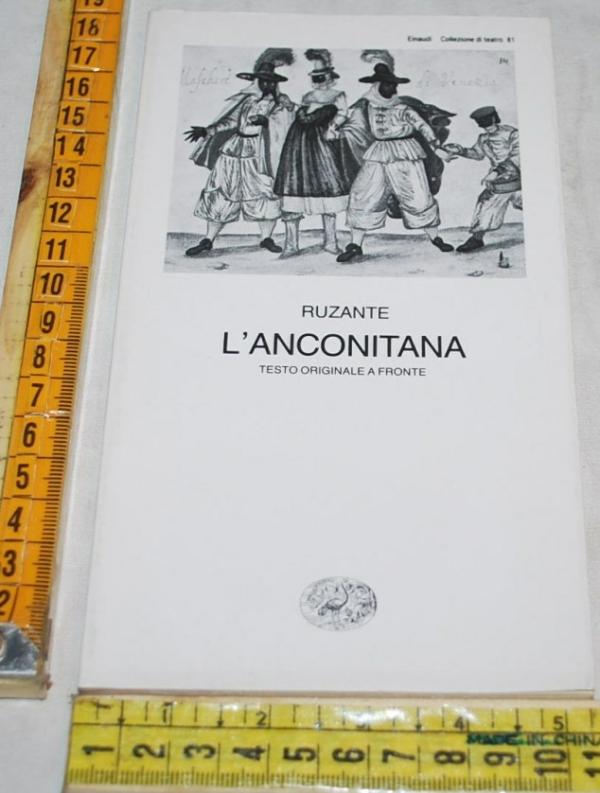 Ruzante - L'anconitana - Einaudi Teatro 81