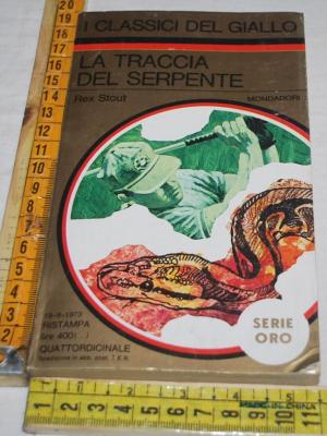 Stout Rex - I quattro cantoni - 167 I classici del Giallo Mondadori