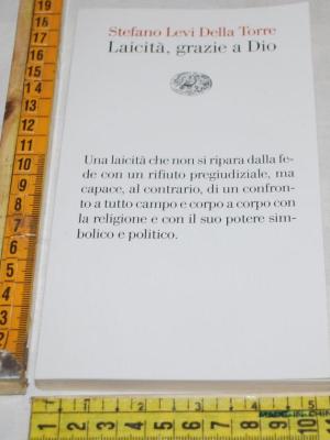 Levi della Torre Stefano - Laicità